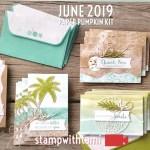 "VIDEO: June Paper Pumpkin Kit ""A Little Note Card Kit"" Reveal & Giveaway"