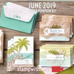 "VIDEO: June Paper Pumpkin Kit ""A Little Note Card Kit"" Reveal & Giveaway"