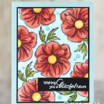 "CARD: Gorgeous Floral Essence ""Wow"" Card"