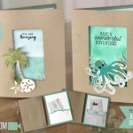ONLINE CLASS & VIDEO: How to make gift card holders with the Under the Sea Bundle and Paper Pumpkin