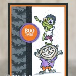 CARD: Boo to You Halloween Card from the Holiday Catalog