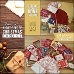 SPECIAL CARD KIT: Night Before Christmas Quick Card Kit