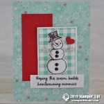 CARD: Heartwarming Memories card from the Snowman Season Stamp Set