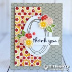 CARD: Thank You card from the All Wired Up Stamp Set
