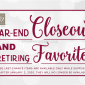 Year End Close Out: Retiring List & Discounts from the 2019 Holiday Catalog – while they last