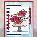 CARD: Celebrate with the Happy Birthday to You Stamps from Saleabration