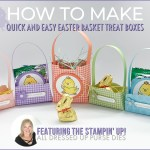 VIDEO: How to make Quick & Easy Easter Basket Treat Boxes