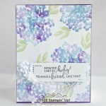 CARD: Lucky Friend card from the Thanks for the Laughs Stamp Set