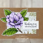 CARD: Thinking of you with all of my heart Magnolia