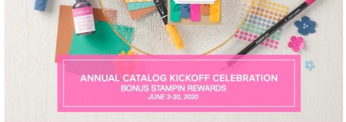 SPECIAL: $25 Bonus Stampin Rewards on qualifying orders June 3-30