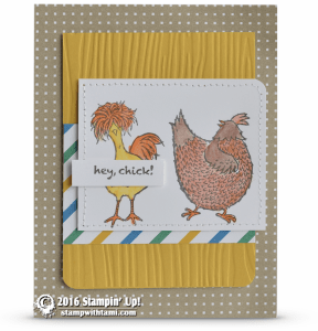 SAB Hey Chick Stamp Set