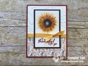 stampin up autumn harvest stamp set cards1