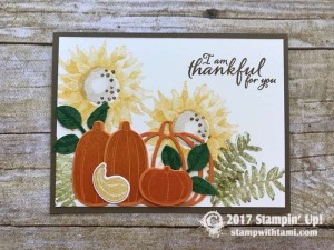 stampin up autumn harvest stamp set cards11