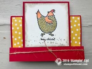 Stampin Up Sale-a-bration Hey Chick stamp set