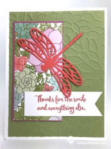 Stampin Up Sale-a-bration Succulent Garden DSP