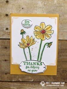 stampin up stampin Stampin Up Helping Me Grow Stamp set