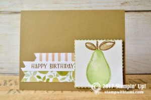 Stampin Up Fresh Fruit Stamp set