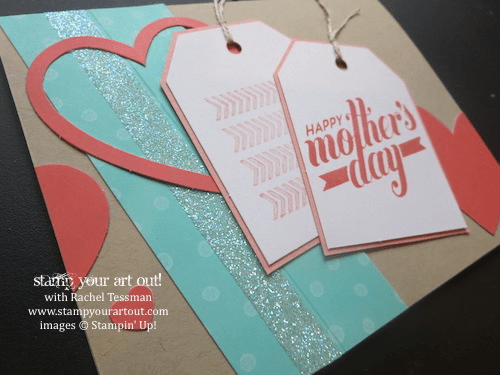 """""""Framed Love"""" April 2014 Paper Pumpkin Kit Mother's Day Card (Join my Paper Pumpkin Online Club!)… Stampin' Up!® - Stamp Your Art Out! www.stampyourartout.com"""