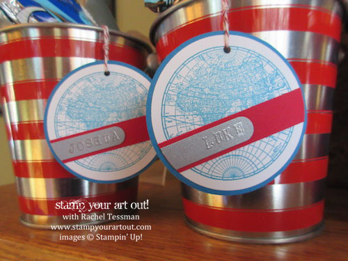 Luke's shark-themed birthday party… Stampin' Up!® #stampyourartout #stampinup - Stamp Your Art Out! www.stampyourartout.com