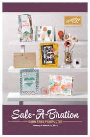 Get in on Stampin' Up!'s 2016 Sale-A-Bration – get a free Sale-A-Bration item with each $50+ order, get extra Stampin' Rewards at the $250+ level and get $30 extra free with your starter kit!… #stampyourartout #stampinup - Stampin' Up!® - Stamp Your Art Out! www.stampyourartout.com