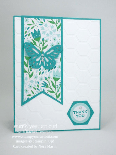 Look at what the talented Nora Marin made with the March 2016 Pocket Full Of Cheer Paper Pumpkin kit!…#stampyourartout #stampinup - Stampin' Up!® - Stamp Your Art Out! www.stampyourartout.com