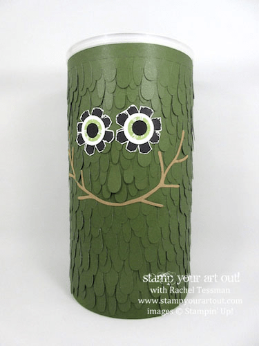 Monster box made with the April 2016 Lovely Little Wreath Paper Pumpkin kit …#stampyourartout #stampinup - Stampin' Up!® - Stamp Your Art Out! www.stampyourartout.com