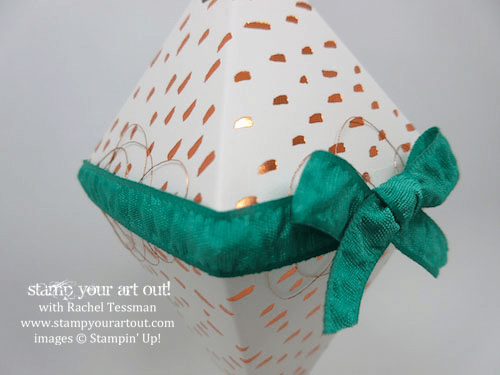 Ornament - Click here to see lots of project ideas created with the July 2016 What A Gem Paper Pumpkin kit… #stampyourartout - Stampin' Up!® - Stamp Your Art Out! www.stampyourartout.com