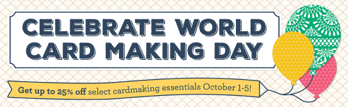 Celebrate World Card Making Day with some great savings… #stampyourartout - Stampin' Up!® - Stamp Your Art Out! www.stampyourartout.com