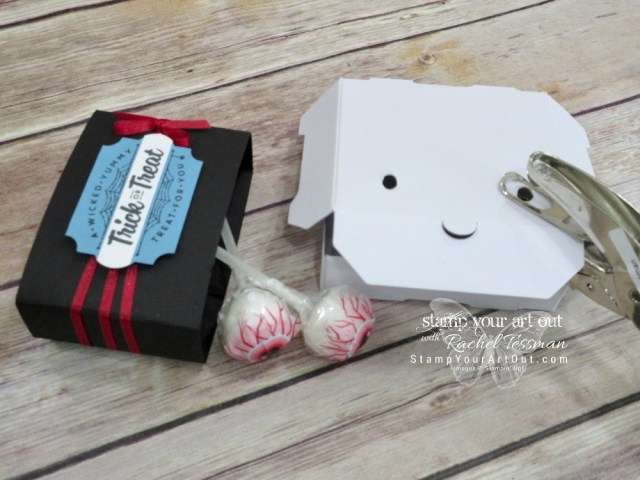 Click here to see how to make Box Monsters with Candy Eyeballs!...#stampyourartout - Stampin' Up!® - Stamp Your Art Out! www.stampyourartout.com