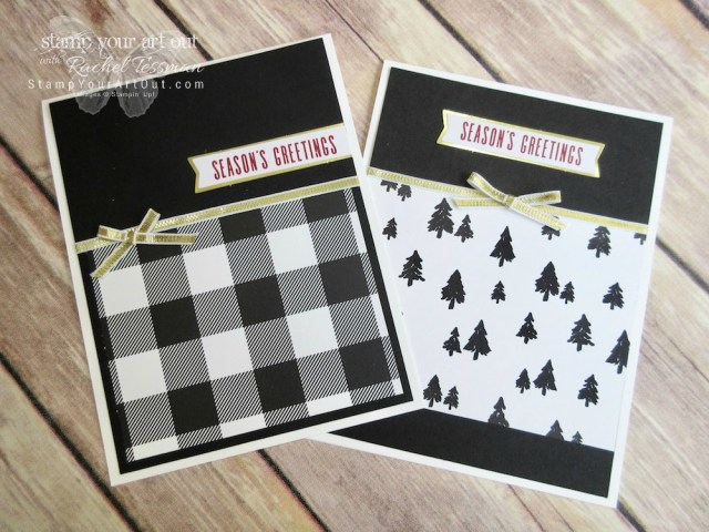 Click here to see photos and a how-to video for lots of great projects created with the October 2017 Pining for Plaid Paper Pumpkin kit: a telescoping card, a 12x12 scrapbook page layout, a bridge fold card, a cute bag made from an envelope, and more!... #stampyourartout - Stampin' Up!® - Stamp Your Art Out! www.stampyourartout.com