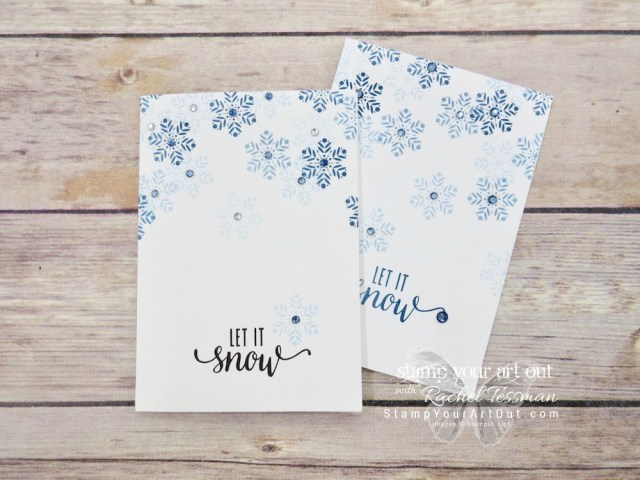 "Click here to see photos and a how-to video for a 12x12 scrapbook page layout and lots of great cards (cards that feature the Stampin' Blends, a ""Santa belt"" card, and more) created with the November 2017 Back In Plaid Paper Pumpkin kit! ...#stampyourartout #stampinup - Stampin' Up!® - Stamp Your Art Out! www.stampyourartout.com"