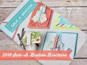 The 2018 Sale-A-Bration Brochure .… #stampyourartout - Stampin' Up!® - Stamp Your Art Out! www.stampyourartout.com