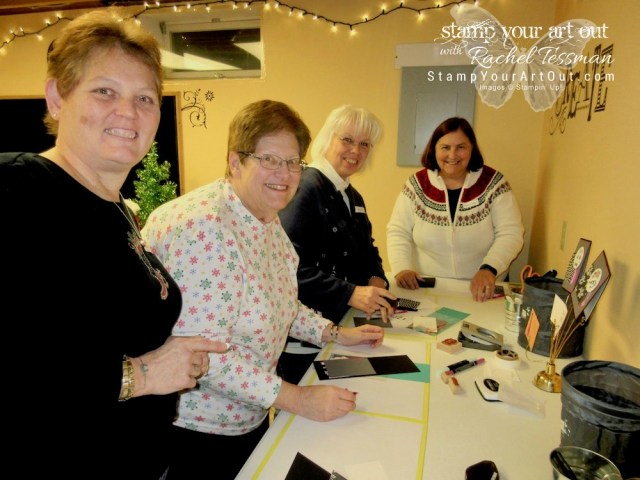 2017 Stampers With ART Stars Holiday Team Gathering...#stampyourartout #stampinup - Stampin' Up!® - Stamp Your Art Out! www.stampyourartout.com