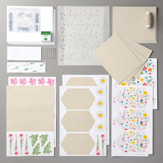 Click here to watch a how-to video and see fun alternate project ideas I created with the February 2018 Wildflower Wishes Paper Pumpkin kit..#stampyourartout #stampinup - Stampin' Up!® - Stamp Your Art Out! www.stampyourartout.com