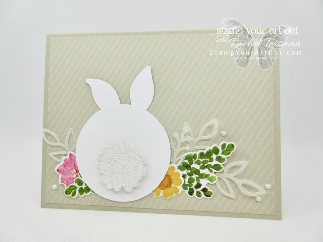 Click here to see fun alternate project ideas created with the February 2018 Wildflower Wishes Paper Pumpkin kit in A Paper Pumpkin Thing Blog Hop! I shared a fun bunny card and coordinating basket. I also included a how-to video to walk you through from start to finish. Enjoy!...#stampyourartout #stampinup - Stampin' Up!® - Stamp Your Art Out! www.stampyourartout.com