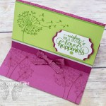 Click here for more information & to get a link so you can watch my quick video to see how I made my Landscape Easel Card using the Dandelion Wishes stamp set that just debuted in the 2018-19 Annual Catalog…#stampyourartout #stampinup - Stampin' Up!® - Stamp Your Art Out! www.stampyourartout.com