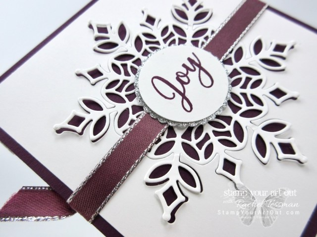 Click here to see a few different Step Panel Fold Cards that I created with the Snowflake Showcase products that will only be available November 2018. You can also find measurements, a complete list of supplies, and a link to a how-to video that includes directions for how to make these great cards!...#stampyourartout #stampinup - Stampin' Up!® - Stamp Your Art Out! www.stampyourartout.com