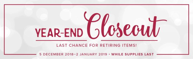Click here to learn more about the 2018 Year-End Closeouts!.…#stampyourartout #stampinup - Stampin' Up!® - Stamp Your Art Out! www.stampyourartout.com