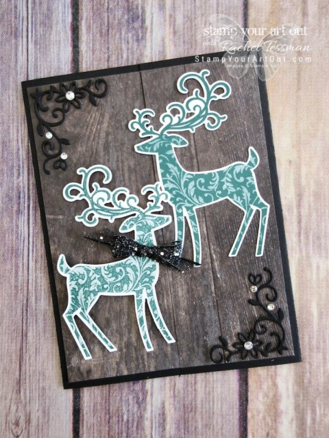 Click here to see a few Vellum Cover Cards and a cupboard fold card using the Dashing Deer Bundle: The Dashing Deer stamp set & Detailed Deer Thinlits dies. You can also find measurements, a complete list of supplies, and a link to a how-to video that includes directions for how to create this Vellum Cover Card. I share how to get the reverse image with the Stamparatus Tool, too!!...#stampyourartout #stampinup - Stampin' Up!® - Stamp Your Art Out! www.stampyourartout.com