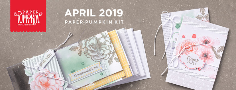 The April 2019 Sentimental Rose Pumpkin kit stamp set. #onestopbox #stampyourartout #stampinup - Stampin' Up!® - Stamp Your Art Out! www.stampyourartout.com