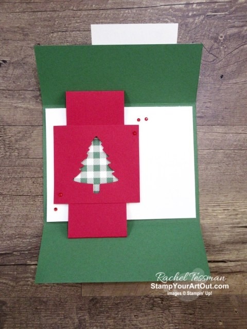 Click here to see a couple Shutter Fold cards created with the Toile Tidings Designer Paper, Toile Christmas Stamp Set, Christmas Cardinal dies, and Pine Tree Punch. Access directions, measurements, a how-to video for shutter fold cards, and a list of supplies I used linked to my online store. - Stampin' Up!® - Stamp Your Art Out! www.stampyourartout.com