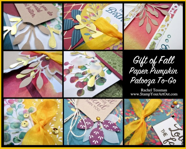 Gift of Fall Paper Pumpkin Palooza To-Go! - Stampin' Up!® - Stamp Your Art Out! www.stampyourartout.com