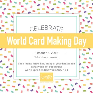 Make and send handmade cards! - Stampin' Up!® - Stamp Your Art Out! www.stampyourartout.com #stampyourartout #stampinup