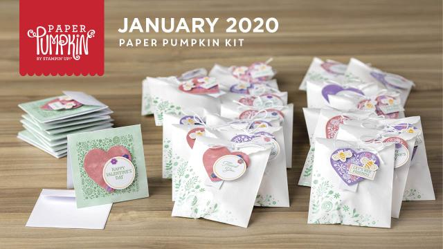 The January 2020 I'll Bee Yours Paper Pumpkin Kit. - Stampin' Up!® - Stamp Your Art Out!