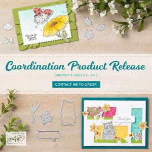 February 4-March 31, 2020 is the perfect opportunity to purchase products that coordinate with our favorite products from the January–June 2020 Mini Catalog and Sale-A-Bration. Only available for a limited time or while supplies last. Click here and scroll down for access to the informational flyers! - Stampin' Up!® - Stamp Your Art Out! www.stampyourartout.com