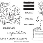The February 2020 Lovely Day Paper Pumpkin Kit Stamp Set Case Insert. - Stampin' Up!® - Stamp Your Art Out! www.stampyourartout.com