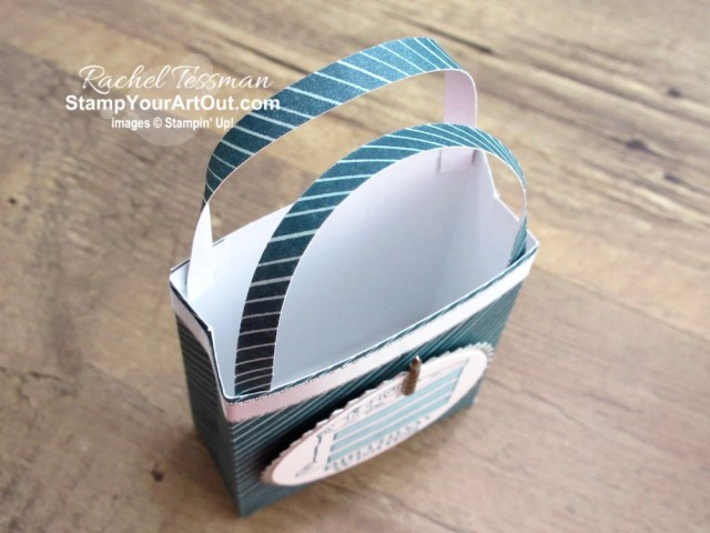 """Click here to see & get details for a fun mini gift bag and a beautiful page layout that I made with the contents of the February 2020 Lovely Day Paper Pumpkin Kit and coordinating products. Plus you can see several other alternate project ideas created with this kit by fellow Stampin' Up! demonstrators in our blog hop: """"A Paper Pumpkin Thing""""! - Stampin' Up!® - Stamp Your Art Out! www.stampyourartout.com"""