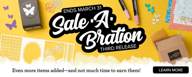 3rd Release products for Sale-a-Bration 2020! Stampin' Up!® - Stamp Your Art Out! www.stampyourartout.com