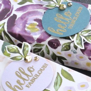 Here is a peek at the project I made for the Best Dressed All Star Tutorial Bundle. Place a qualifying order in the month of May 2020 and get the bundle of 12 fabulous paper crafting project tutorials for free! Or purchase it for just $15 US. - Stampin' Up!® - Stamp Your Art Out! www.stampyourartout.com