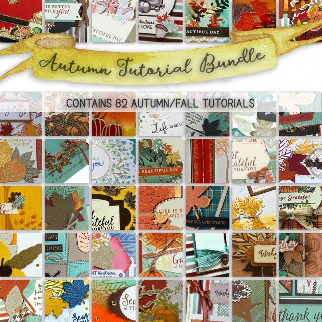 The Autumn Tutorial Bundle featuring Autumn products from the August-December 2020 Mini Catalog! - Stampin' Up!® - Stamp Your Art Out! www.stampyourartout.com